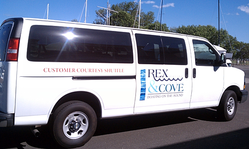 Norwalk Cove Marina Shuttle Bus