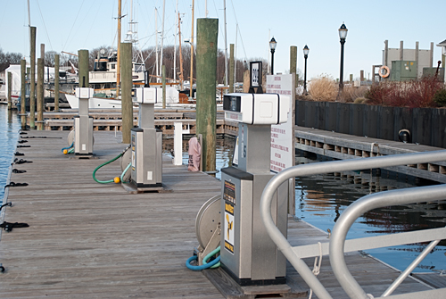 Norwalk Cove Marina Fuel Dock