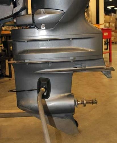 Marine Boat Motor Flusher Engine Ear Muffs Outboard Garden Hose Connection