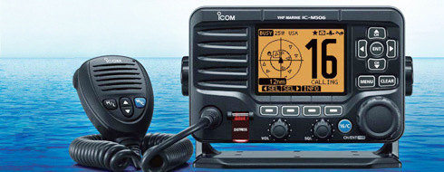 Icom VHF with AIS
