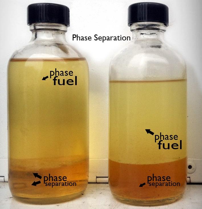 phase separation filter paper